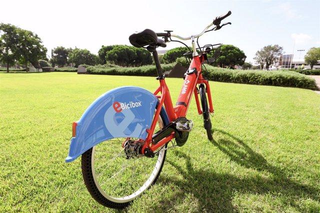 Bicicleta del servicio compartido metropolitano