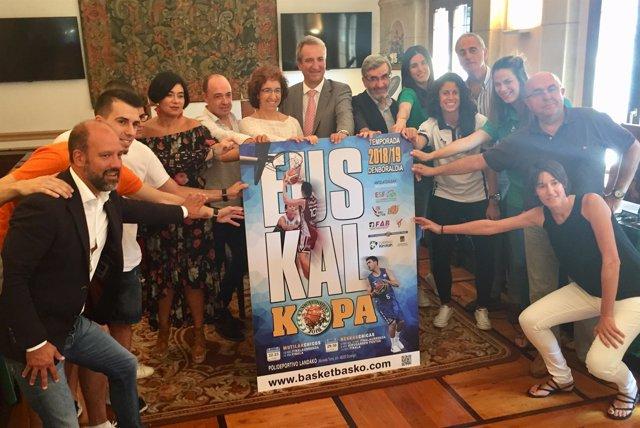 Presentación de la Euskal Kopa