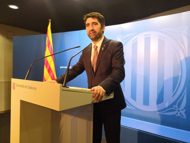 El conseller de Políticas Digitales y Administración Pública, Jordi Puigneró.
