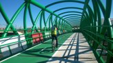 Foto: Adjudicadas las obras de conexión de la red de carriles bici de Sevilla con la paserela ciclista de la SE-30