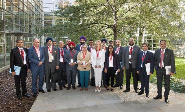 Encuentro de empresas navarras e indias del sector de automoción