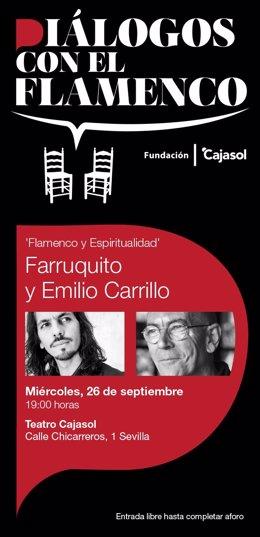 Comienza 'Diálogos con el flamenco' en Fundación Cajasol