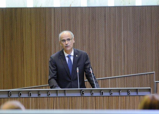 Toni Martí, jefe de Gobierno de Andorra