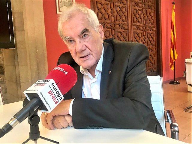 Ernest Maragall, conseller de la Generalitat