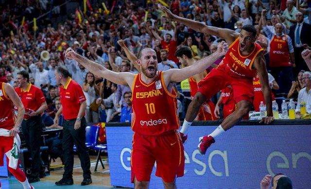 Quino Colom selección española baloncesto España