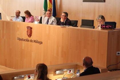 """La presión fiscal, el """"enchufismo"""", la situación de bomberos y la depuración centrarán el pleno de Diputación de Málaga"""