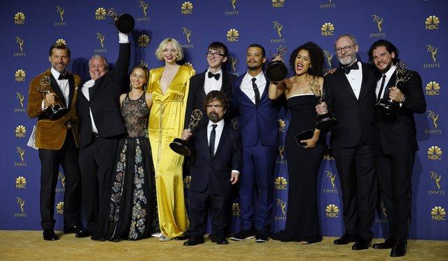 Reparto de Juego de Tronos en la 70ª edición de los Emmy