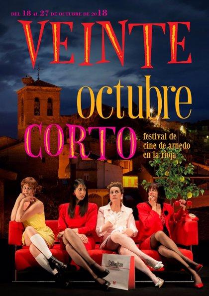 Octubre Corto selecciona 47 cortometrajes de entre los más de 800 recibidos para el concurso