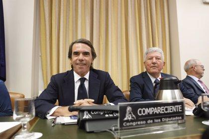 """Aznar defiende que actuó """"tajantemente"""" ante la corrupción y que no tiene que """"pedir perdón"""""""