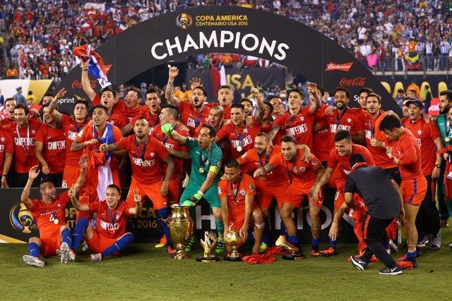 Chile gana la Copa América Centenario