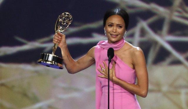 Thandie Newton en la 70ª edición de los Emmy