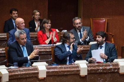 López Miras comparece este jueves en la sesión de control de la Asamblea Regional