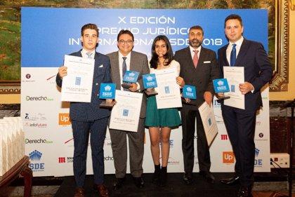 """La validez jurídica de la """"cláusula del miedo"""", reconocida en el X Premio Jurídico Internacional ISDE"""