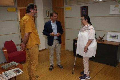 Una vecina de Tres Cantos con discapacidad realizará practicas como ordenanza en el Ayuntamiento