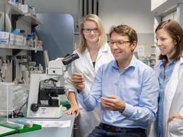 El Prof. Dirk Haller y su equipo