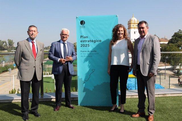 Presentación del plan estratégico del Puerto de Sevilla hasta 2025