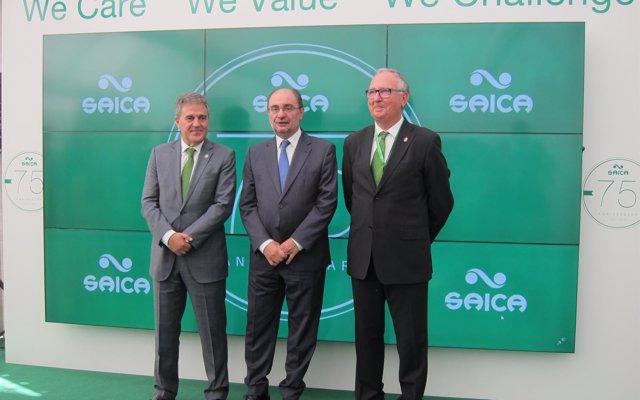 Saica celebra su 75 aniversario con nuevos procesos tecnológicos e instalaciones en su sede en El Burgo de Ebro