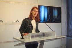 El grup dels comuns nomena Jèssica Albiach presidenta del grup al Parlament (EUROPA PRESS - Archivo)
