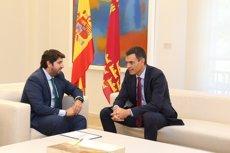 El president de Múrcia proposa a Sánchez una Conferència de presidents que abordi el problema català (GOBIERNO REGIONAL)