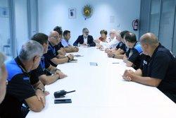 Larrosa encarrega una reorganització interna de la Urbana i patrulles a peu permanents al Centre Històric i la Mariola (ACN)