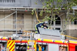 Un treballador mort per l'ensorrament d'una bastida en les obres de l'Hotel Ritz (Europa Press)