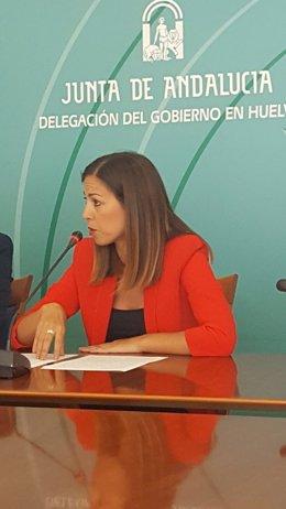 María José Bejarano, secretaria general de Vivienda de la Junta.