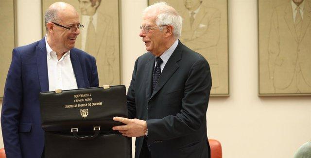 Josep Borrell explica en el Congreso las líneas generales de su departamento