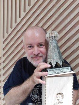 Joaquín Sevilla, profesor de la UPNA, galardonado con el Premio Tesla.