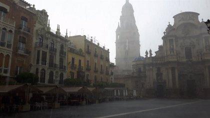 Meteorología amplía su aviso por tormentas esta tarde en la Vega del Segura