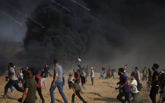 Mueren otros dos palestinos por disparos de las fuerzas de Israel en el norte de la Franja de Gaza