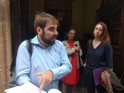 Podemos dispuesto a trasladar la eliminación de los aforamientos a Asturias, lo que exigiría reformar el Estatuto