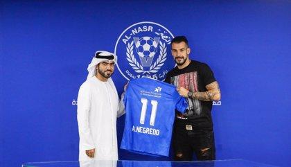 Negredo ficha por el Al Nasr de Emiratos Árabes Unidos