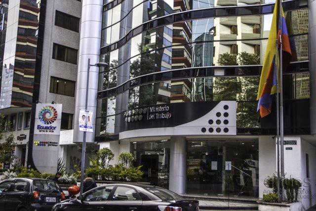 Sede del Ministerio del Trabajo de Ecuador en Quito