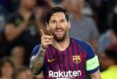 Foto: Messi se convierte en el jugador con más 'hat-tricks' en la 'Champions'