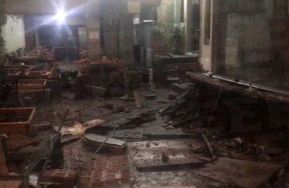 Una explosión en un restaurante deja seis heridos en el centro de México