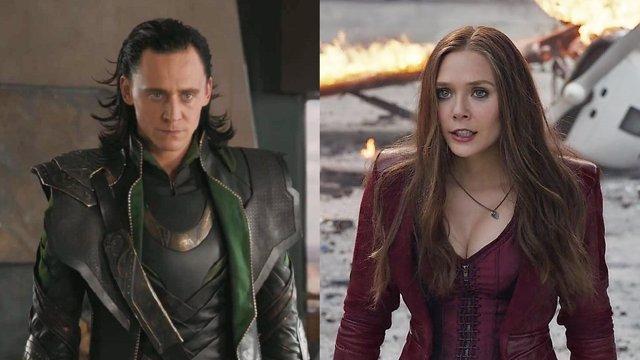 Tom Hiddleston y Elizabeth Olsen