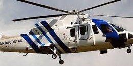 Helicóptero 'Pesca 2' del Servizo de Gardacostas de Galicia.