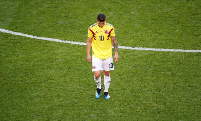James Rodríguez Colombia Mundial