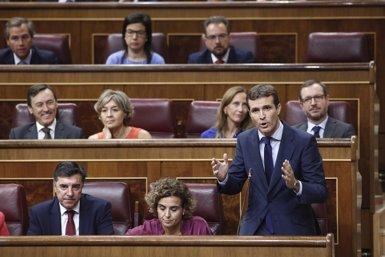"""Casado exigeix a Sánchez unes eleccions """"tan aviat com sigui possible"""" (Eduardo Parra - Europa Press)"""