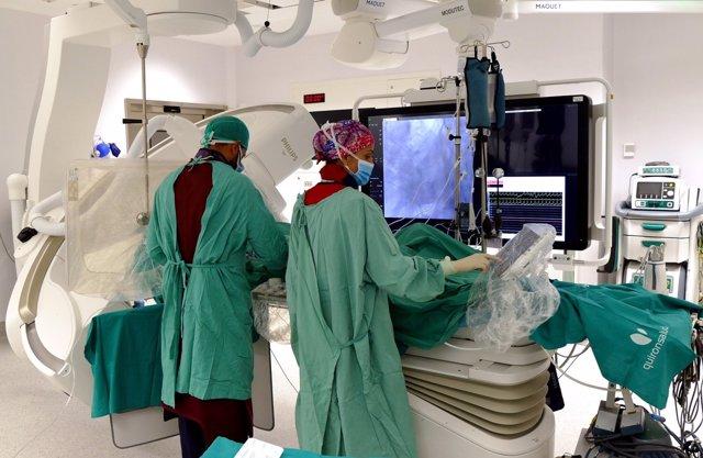 Quirónsalud Madrid estrena un quirófano híbrido para cirugías poco invasivas