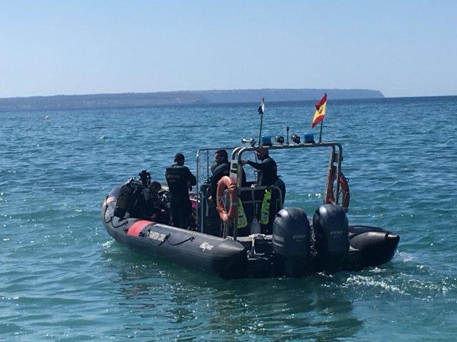 GEAS, Guardia Civil, Embarcación, búsqueda, recurso
