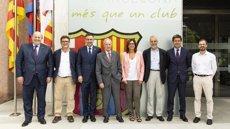 El FC Barcelona i la Fundació Ernest Lluch prorroguen el seu acord de col·laboració fins al 2020 (FC BARCELONA)