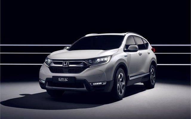 Honda entregará las primeras unidades de la versión híbrida del CR-V a principios de 2019