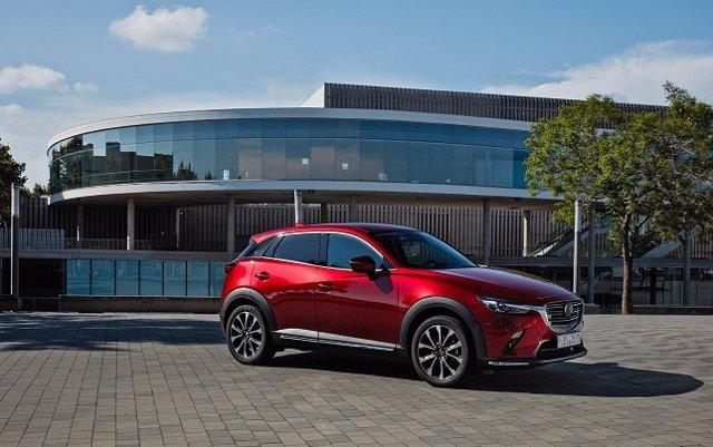 El nuevo Mazda CX-3 se comercializará con un motor de gasolina en dos versiones y un nuevo diésel