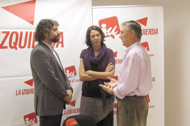 De izquierda a derecha, Sarrión, García y Ordóñez
