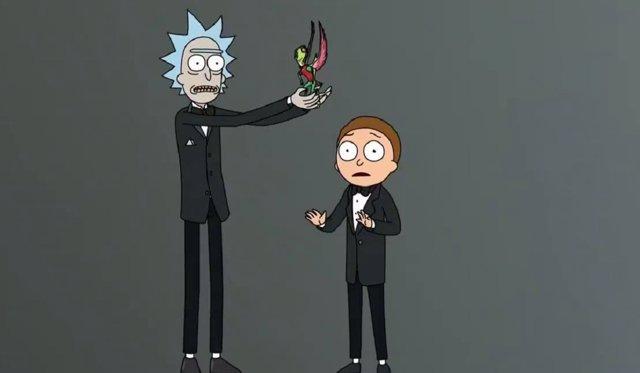 Rick y Morty en la 70ª edición de los premios Emmy