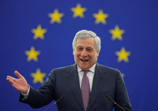 Antonio Tajani, presidente del Parlamento Europeo