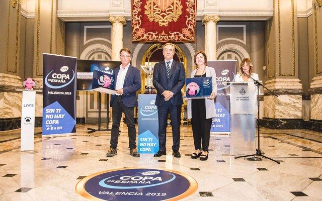La Fonteta albergará la Copa de España de fútbol sala de 2019