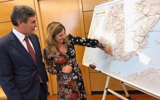 Fomento confirma a Irene García que expondrá en el Campo de Gibraltar las previsiones sobre la Algeciras-Bobadilla