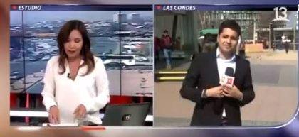 """Captan un """"asesinato"""" en Chile durante una retransmisión en directo y el periodista ni se percata"""